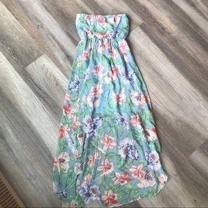 Dresses & Skirts - Floral Hi-Lo Dress